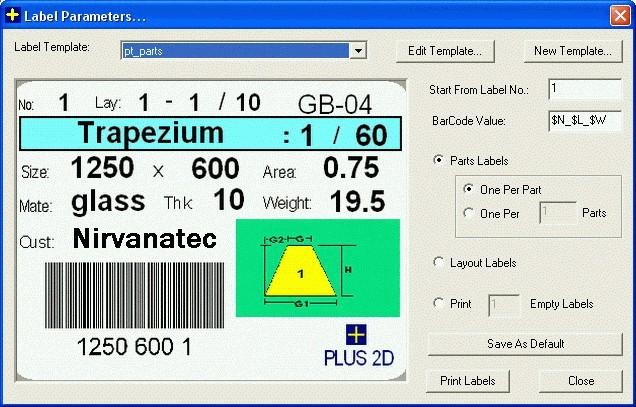 Bar Code Label Module Plus Label Maker Optional Add On Module - Label maker template