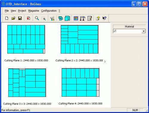 Create NC code for Intermac ( OTD file) in PLUS 2D